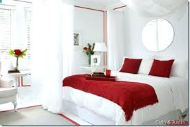 Red And White Painted Rooms Red White And Black Room Ideas Red ...