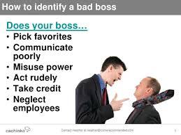 Bad Supervisors Big Bad Boss What To Do When Your Boss Is Evil