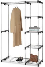 closet organizer storage rack portable clothes hanger home garment shelf for 35 99 free reg 100