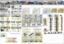 Архитектурный диплом Подача
