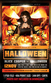 halloween template flyer halloween flyer flyers club parties and halloween