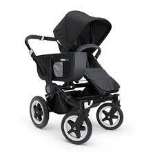 Baby roues letour white lightweightt compact stroller w bassinet