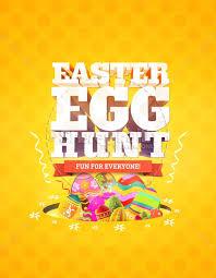word easter egg easter egg hunt church flyer template flyer templates