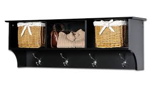 Wall Mounted Coat Rack With Cubbies Sonoma Black Cubbie Bench and Wall Coat Rack Set Walmart 36