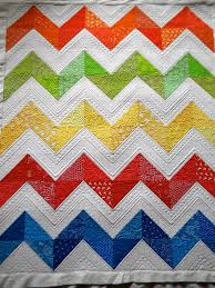 Chevron Quilt Pattern Interesting Sew Kind Of Wonderful Lisa's Chevron Quilt