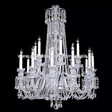 china long silver chain glass gold color european baccarat chandelier lighting