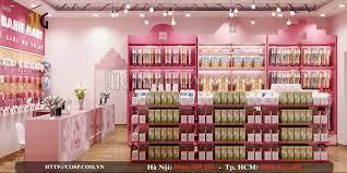 Thiết kế Shop mẹ bé Babie Mart - Hưng Yên