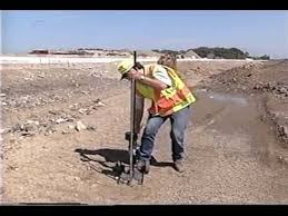 Operation Of The Dynamic Cone Penetrometer Youtube
