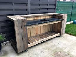Pallet Kitchen Furniture How To Build Kitchen Cabinets With Pallets Pallet Kitchen Island