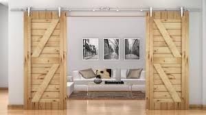 bedroom exterior sliding barn door track system. Mini Double Barn Door Hardware Exterior Sliding Track System Lowes 676804 Kit Bedroom