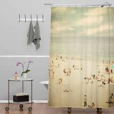 vintage shower curtain. Shannon Clark Vintage Beach Shower Curtain