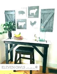 diy rustic kitchen decorating ideas modern wall decor for farmhouse tradition astonishing