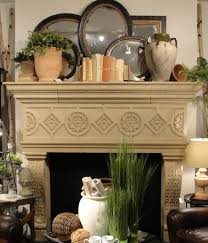 Mantel Decor For This Spring Mantel Display We Wanted To Go For