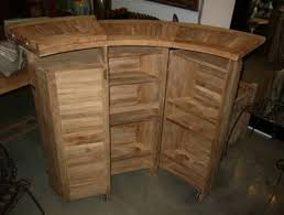 wood patio bar set. Patio Bar Cabinet Teak Wood Furniture Set