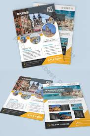 Simple Creative Travel Agency Italy Travel Flyer Template