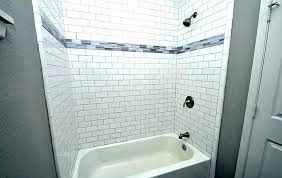 white tile bathroom shower white tile with white grout white subway tile image of beveled subway