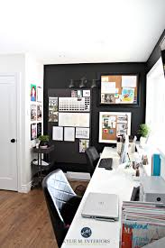 home office decorating ideas pictures. Home Office Decorating Ideas By Kylie M INteriors Corkboards And Tricorn Black Feature Or Accent Wall Pictures