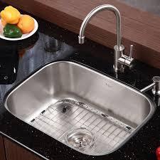 stainless steel 16 gauge undermount 31 5 single bowl kitchen sink