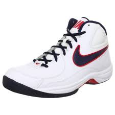nike basketball shoes white. nike the overplay vii mens size 10 white leather basketball shoes