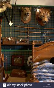 Lodge Bedroom Old English Hunting Lodge Bedroom Stock Photo Royalty Free Image