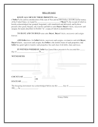 General Bill Of Sale Template Free General Bill Of Sale Template For Personal Property Designed By 12