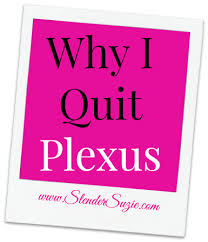 The Truth About Why I Quit Plexus Slender Suzie