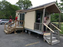 tiny house chicago. Student Built 144 Sq. Ft. Tiny House On Wheels In Chicago High School For L