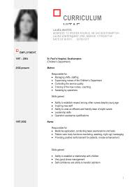 General Resume Templates Saneme