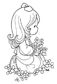Precious Moments Coloring Pages Getcoloringpagescom