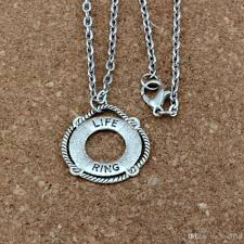 whole life ring alloy charms pendant necklaces jewelry diy 20 inches chains antique silver a 418d diamond pendant love necklace from bead118