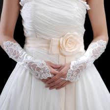 gloves for wedding. net and lace bridal gloves for wedding f