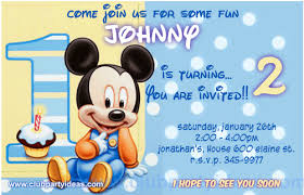 Invitation Free Download Unique The Best Baby Mickey Mouse Invitations Free DOWNLOAD IT NOW
