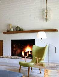 mid century modern fireplace mantel modern mantels for living room with wood burning fireplace brass floor