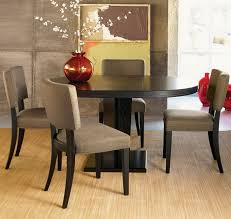 dark round table in asian dining room asian dining room furniture