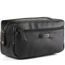 2017 luxury men s toiletry bag leather dopp kit fashion cosmetic bag travel kit for women makeup bag mens shaving bag in cosmetic bags cases from luggage