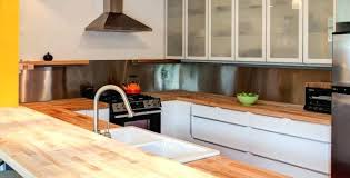 for butcher block counter