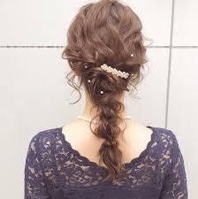 結婚式は髪型でおしゃれしよう可愛くなれるセルフアレンジも紹介