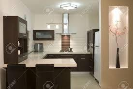 Modern Luxury Kitchen Designs Kitchen Room Modern Design Luxury Kitchen Stock Photo Picture And