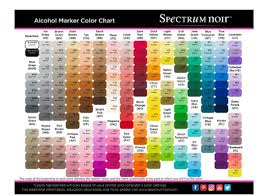 Blick Marker Color Chart An Introduction To Alcohol Ink Markers Arttutor