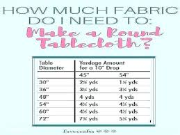 tablecloth size for 5 round table oval chart tablecloths fresh sizes overlay australia