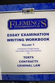 fleming s law exam essay examination writing workbook volume  image is loading fleming 039 s law exam essay examination writing