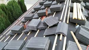 how to installing flat tile roof with wood battens very insteresting watch you