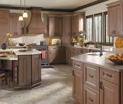 Kitchen cabinets wood Lowe Laroche Kitchen With Cherry Cabinets In Riverbed Finish Pinterest Cabinet Wood Types Photo Gallery Masterbrand