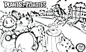 Loveable Plants Vs Zombies 2 Coloring Pages Y4233 Plants Vs Zombies