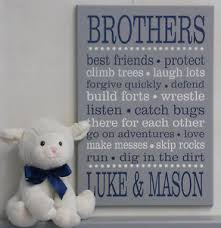 image is loading brother decor wall art sign navy boys bedroom  on brothers wall art quotes with brother decor wall art sign navy boys bedroom quotes personalized
