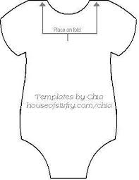 Onesie Template Heres The Template To Make The Onesie Banner For Baby Showers