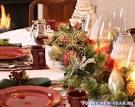 Украшение новый год стола