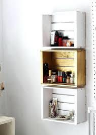 bathroom wall rack pleasant wooden crate bathroom storage shelf towel rack bathroom wall rack from