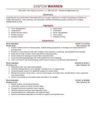 Gallery Of Housekeeping Resume Sample Resume Sample Housekeeping