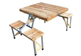 75 for a folding picnic table chair set